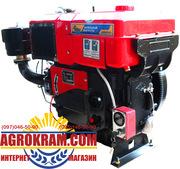 Одноцилиндровый  двигатель ДД1125ВЭ на китайский минитрактор