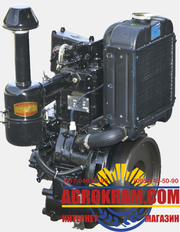 Одноцилиндровый  двигатель DL190-12  на китайский минитрактор