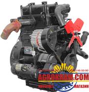Двухцилиндровый двигатель TY295IT на китайский минитрактор