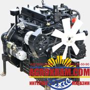 Четырехцилиндровый двигатель 4L22BT на китайский минитрактор