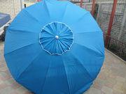 Зонт 2, 6м 12спиц без клапана. Цвет: красный,  синий,  зеленый