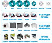 тиражирование дисков cd