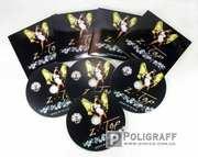 Печать на CD/DVD дисках,  тиражирование,  полиграфия,  Украина