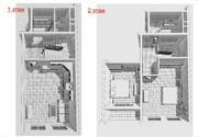 Предлагаю 2-х уровневую квартиру с 2-мя спальнями в новом доме.