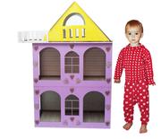 Разборной домик для кукол-кукольный домик. Лучший подарок для девочки!