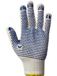 перчатки рабочие с пвх-точкой