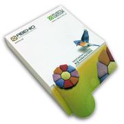 Блоки для записей с 3D эффектом изготовим под заказ