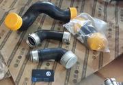 Патрубок турбины для VW Tранспортер T5,  Caddy,  Crafter. Pазборка,  CTO.