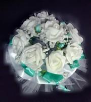 Свадбеный букет Дублёр из искусственных цветов