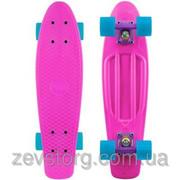 Скейтборд Penny Board розовый