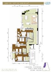 Продам квартиру в Паттайе с видом на море и яхт клуб,  37 этаж