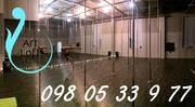 Аренда зала 150м2 «Pole dance» Киев Выдубычи,  Дружбы Народов в Печерск