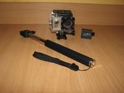 ЭКШЕН КАМЕРА,  SJ4000 + два аккумулятора + монопод