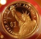 металлический доллар США выпуск 2011