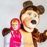 Маша и Медведь.Аниматоры на детские праздники, Бровары.