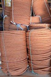 Шнур плетенный кордовый. Диаметр 6- 10 мм.