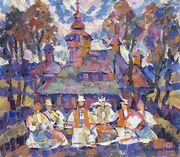 Куплю картины художника Герц Ю.
