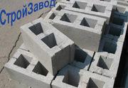 Шлакоблок стеновой 120х190х390 мм,  Киев