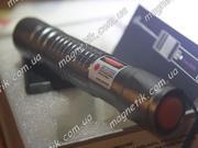 Cверхмощный прожигающий красный лазер 1000 mW (1 Вт) с фокусировкой