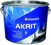 Eskaro Akrit 7 краска для потолков и стен (матовая) 9, 5 л.