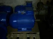 Электродвигатель 4АМ-250-S2.  75 кВт. 3000 об.м.