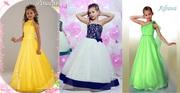 Прокат детских нарядных платьев для выпускных