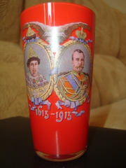 Стакан -В память 300 летия царствования Дома Романовых