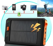 Солнечные батареи портативные аккумуляторы POWER BANK