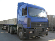 Грузоперевозки открытыми бортовыми длинномерами 20т по Киеву и области