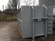 Пресс-контейнер для складывания и транспортировки вторсырья