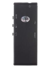 HU881 Диктофон мини 8 ГБ цифровой аудио-рекордер MP3 Плеер