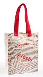 Женская сумочка с рисунком