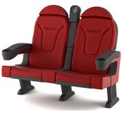 Кресла для кинотеатров,  кинокресла,  Цена от 540 грн.