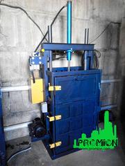 Пресс гидравлический для макулатуры и ПЭТ бутылки на 5 тонн