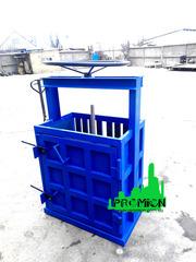 Пресс механический для макулатуры и ПЭТ бутылки