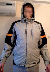 Куртка мужския горнолыжка Glissade,  бу
