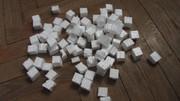Упаковочный пенопласт наполнитель кубиками 2 см лучшая легкая упаковка
