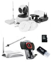 Комплекты видеонаблюдения.  Камеры видеонаблюдения.