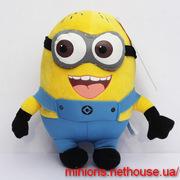 Миньон плюшевая игрушка 18 см,  25 см,  50 см из мультфильма Гадкий Я 3
