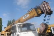 Продаем крановую установку КТА-25 Силач,  25 тонн,  2005 г.в.