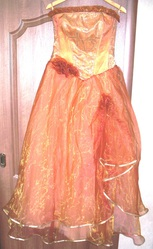 Платье выпускное бальное