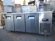 Холодильный стол бу (2х дверный,  3х дверный,  4х дверный,  саладет,  пиц