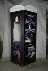 Телефонная будка гардеробная бу