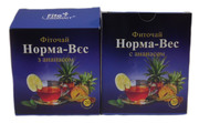 Фиточай № 3 Норма-вес с ананасом  20 пакетов по 1, 5 г
