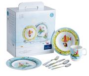 Красочная детская посуда Villeroy & Boch коллекция Chewy around