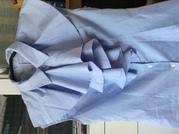 Блузка без рукава в полоску