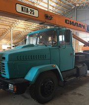 Продаем автокран КТА-25 Силач,  25 тонн,  КрАЗ 65053,  2008 г.в.