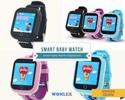 Детские умные часы телефон с GPS навигатором Smart Baby Watch Q100