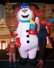 Ростовая кукла Снеговик на детский праздник,  утренник,  Новый год
