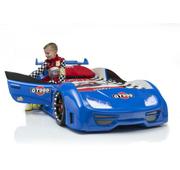 Детская кровать в виде машины пластиковая + подарок